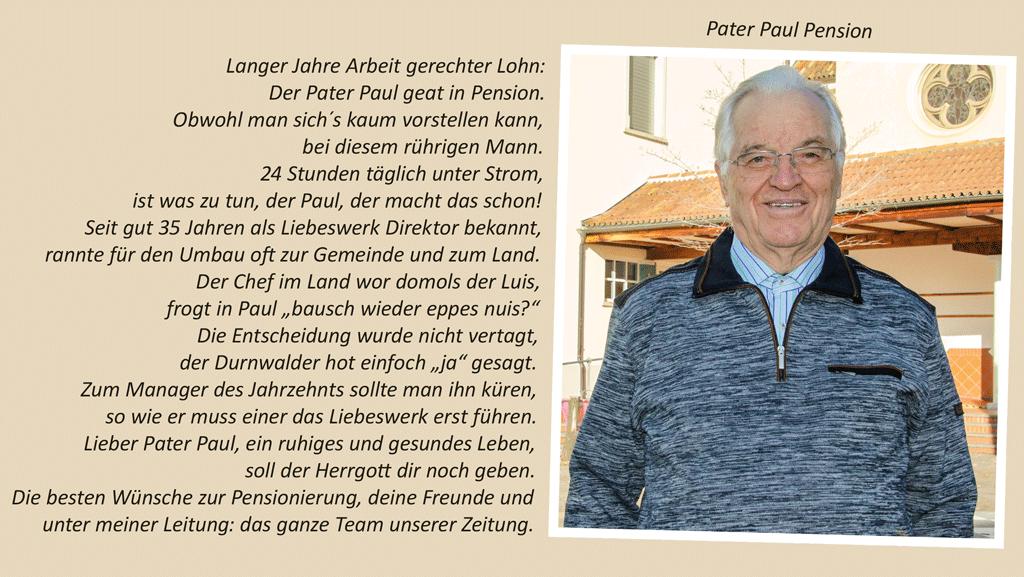 Pater Paul Pension