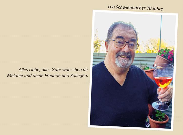 Leo Schwienbacher 70 Jahre