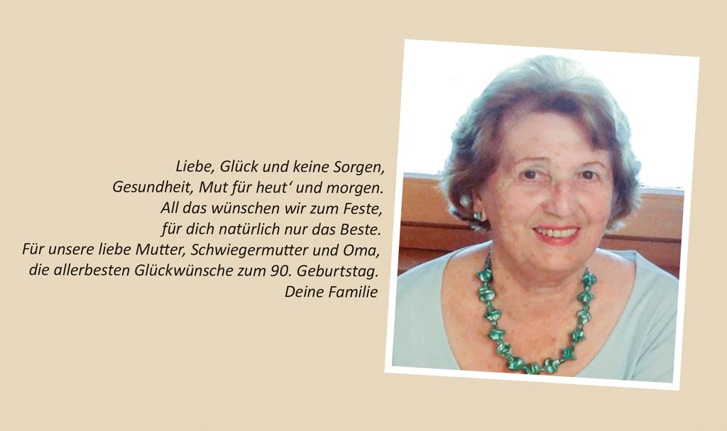 Oma 90 Jahre