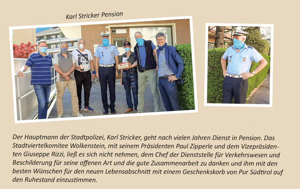 Karl Stricker Pension