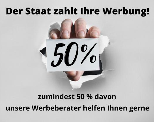 Der Staat zahlt Ihre Werbung (50)