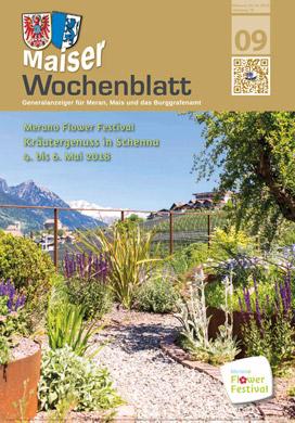 Maiser Wochenblatt Ausgabe 2018-09