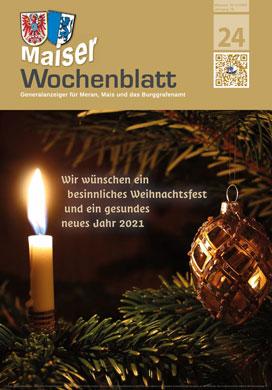 Maiser Wochenblatt, Ausgabe 2020-24