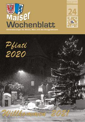 Maiser Wochenblatt, Ausgabe 2021-01