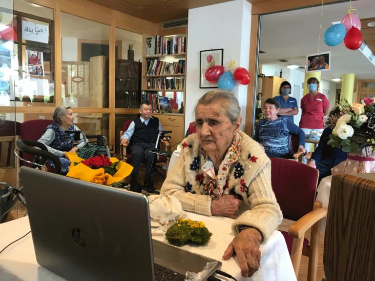 Maria Laimer Gaiser ist 100 Jahre alt geworden